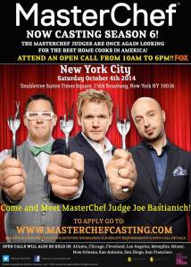 MasterChef Casting Call