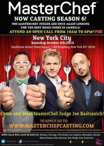MasterChef Casting Call