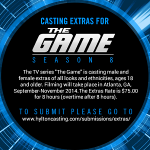 The Game Casting Calls