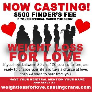 Weight Loss For Love 2015 Finders Fee