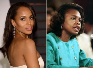 Kerry Washington in the Anita hill story