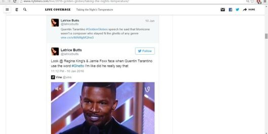 golden globe tweets